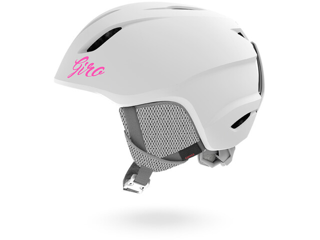 Giro Launch Casco Niños, matte white